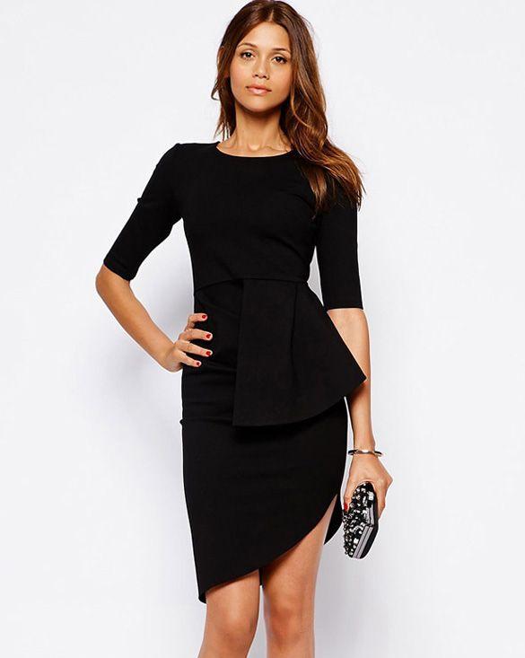 Večerní párty šaty černé