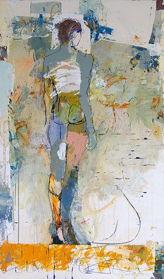 Jylian Gustlin - Contemporary Artist - FIgurative Painting  - Artemis