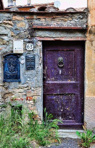 The Italian door set is hopefully going to end up in a book.  We have a thing for interesting doors .....