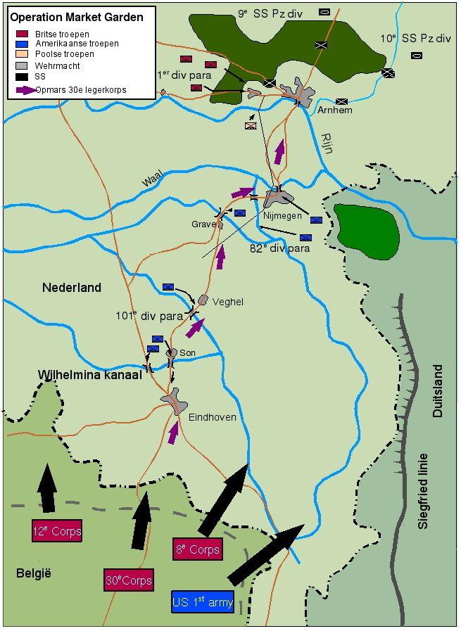 Operation Market Garden: the 5 bridges. World War II. Gen. Bernard Montgomery's plan would be one of the BIGGEST FIASCO's of the war.