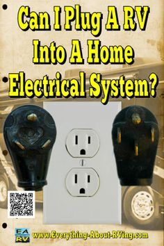 Here is our answer to: Can I Plug A RV Into A Home Electrical System? Yes you can hook up an RV to electric in the house but... Read More: http://www.everything-about-rving.com/can-i-plug-in-a-rv-to-a-home-electrical-system.html HAPPY RVING! #rving #rv #c
