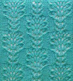 Punto calado a dos agujas tejido http://www.tejidogratis.com/69-puntos-tejidos/puntos-calados.html