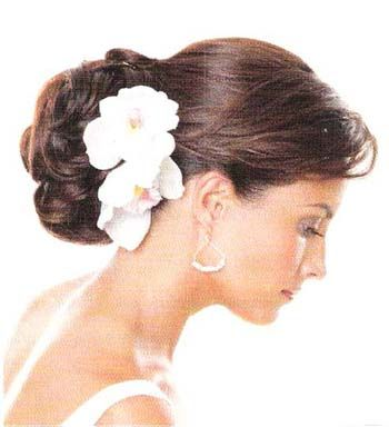 wedding hair updo pictures flowers: Hairstyles, Wedding, Hair Styles, Wedding Ideas, Weddings, Bridal Hair, Bride, Wedding Hairstyles, Flower
