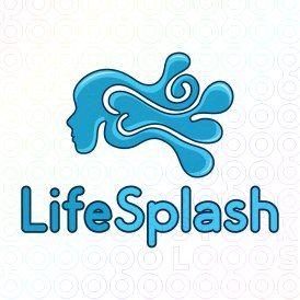 Exclusive Customizable Logo For Sale: Life Splash | StockLogos.com