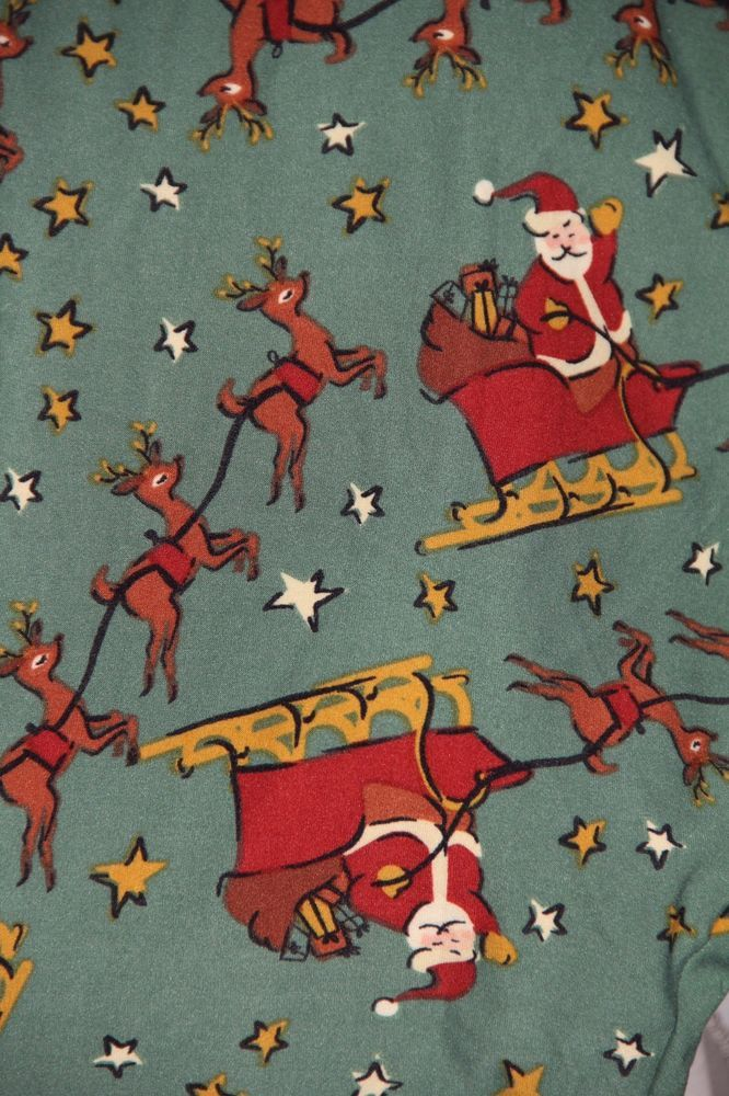 NWT LuLaRoe TC2 Leggings Christmas Holiday Santa Sleigh Reindeer Rudolph Unicorn #LuLaRoe #Leggings