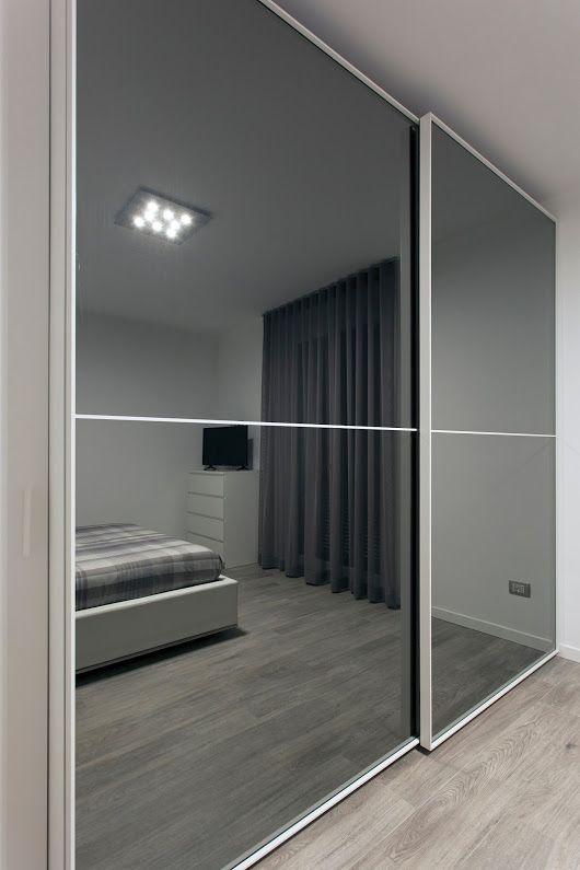 Oltre 25 fantastiche idee su armadio a specchio su - Porte scorrevoli specchio ...