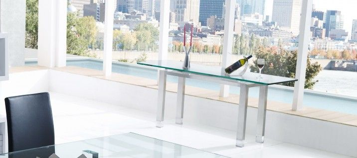 Crystal G503 Console Table. To see more of our designer furniture, visit our Melbourne showrooms today.