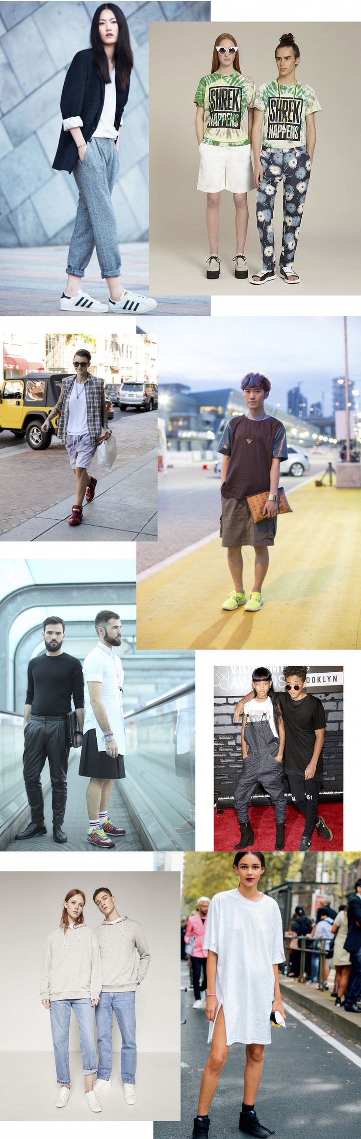 Genderless – moda sem gênero - mais que uma questão de estilo http://www.dropsdasdez.com.br/drops-estilo/genderless-moda-sem-genero/