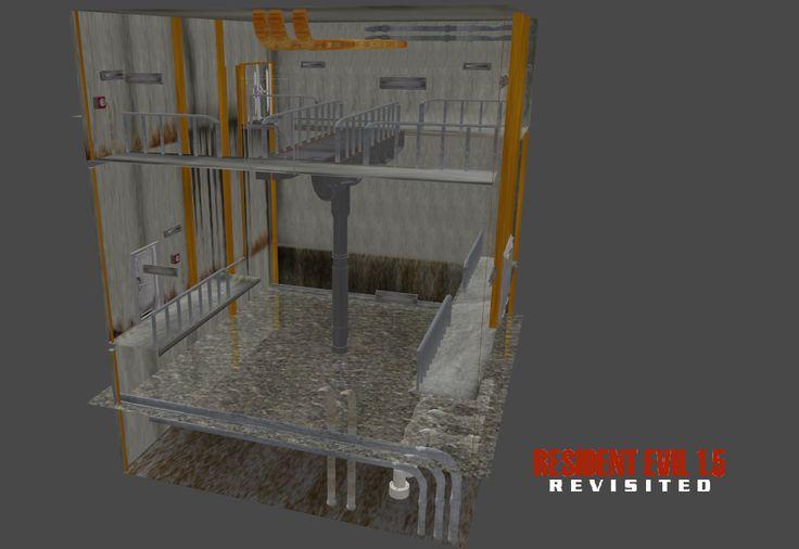 Sewers Beta - Central Hub Exodus (DXP) by RE15REvisited.deviantart.com on @DeviantArt