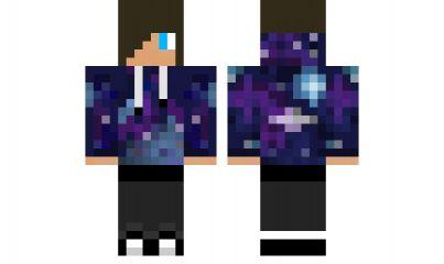 minecraft skin Galaxy-Guy