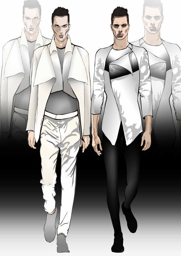 Men fashion sketches | Fashion Illustrations | Pinterest