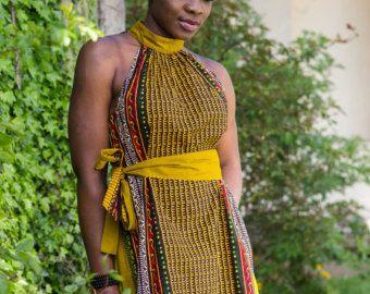 Aline Vestido de vestido vestido hecho a mano por COLUFashion