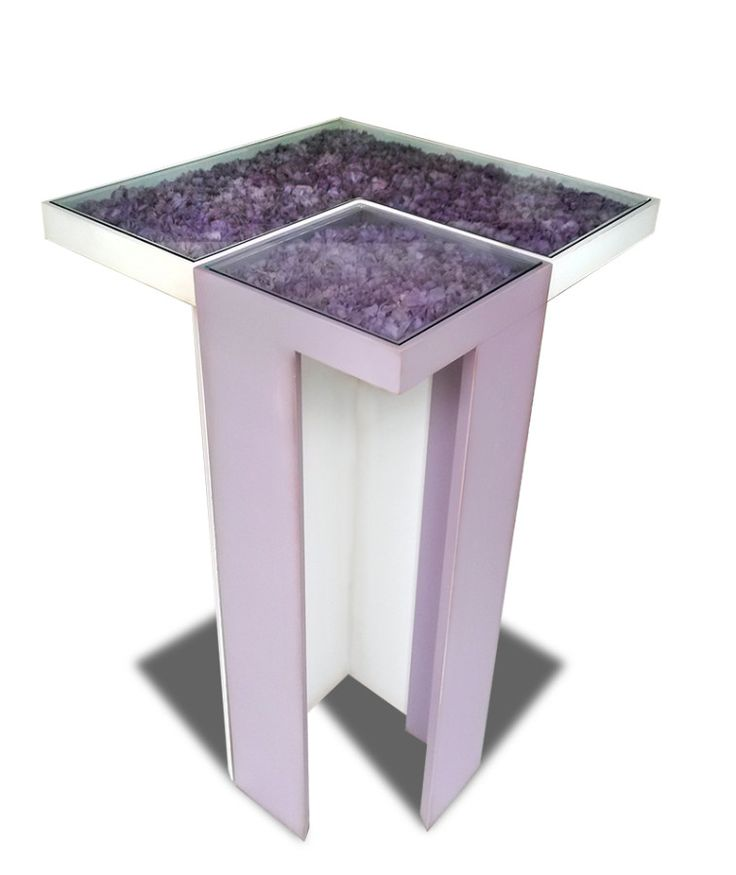 Cling Tables wood and stabilized Hydrangea by LinfaDecor