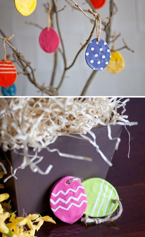 DIY: Salt Dough Eggs for Easter