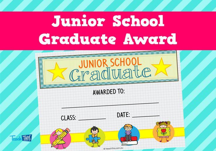 Junior School Graduate Award