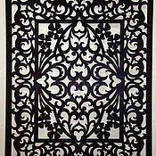 Картины и панно ручной работы. Ярмарка Мастеров - ручная работа Резное панно Артемида. Handmade.