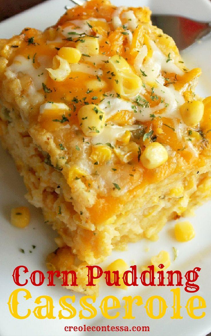 Slow Cooker Cornbread Pudding Casserole-Creole Contessa