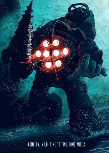 Big Daddy - Bioshock, Video Games, Displate