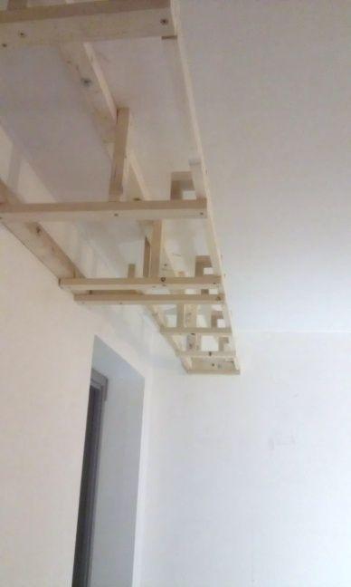 Koofverlichting in verlaagd plafond