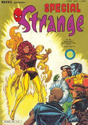 Couverture de Spécial Strange -46- Spécial Strange 1986