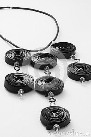 ****2****///visitare****************///Ecojewelry collana di tubo interno della bicicletta