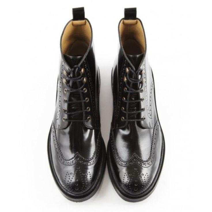 Bourgeois Boheme - women's vegan boots 'Petra' (black) - Vegan Style