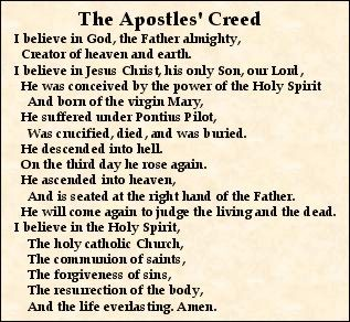 Why the Apostles Creed Falls Short – THINKAPOLOGETICS.COM