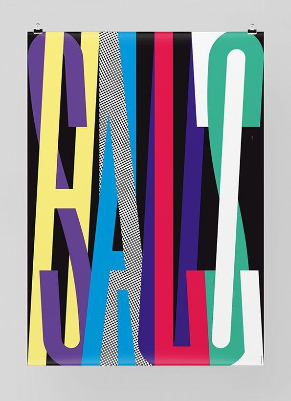 Poster design // typography // Felix Pfaeffli