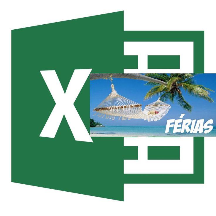 Como fazer uma planilha no Excel para o cálculo das férias