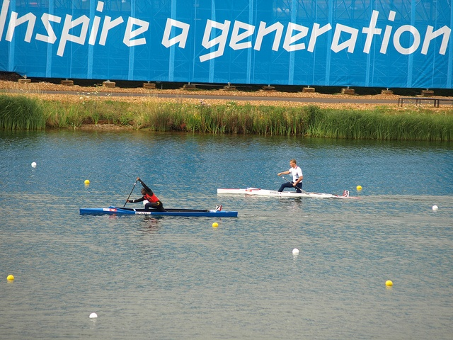 Olympics Day 12 Canoe sprint, via Flickr.