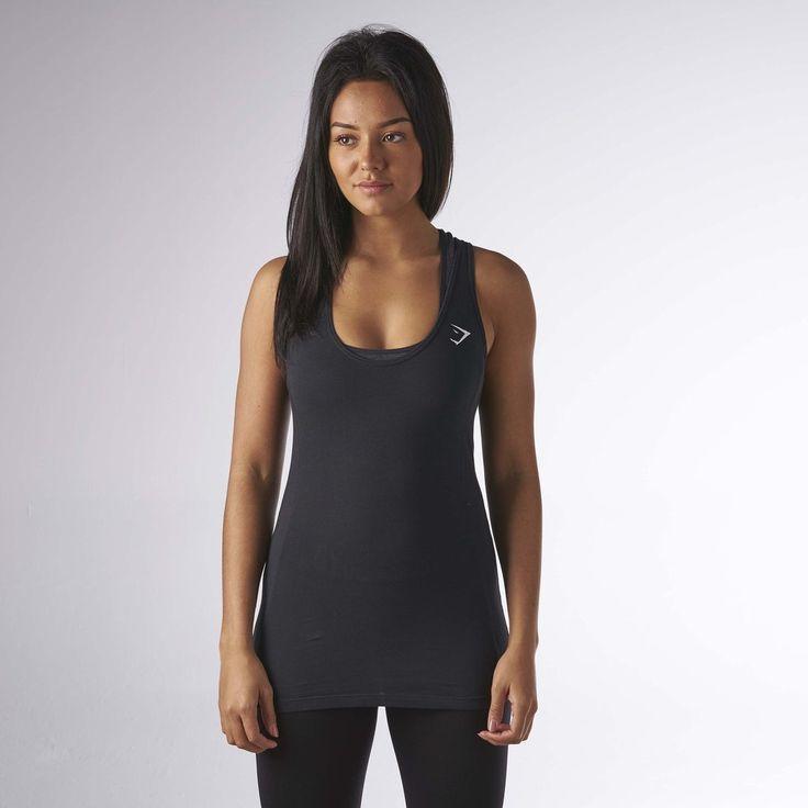 Gymshark Tempo Vest II - Black at Gymshark UK | Be a visionary.