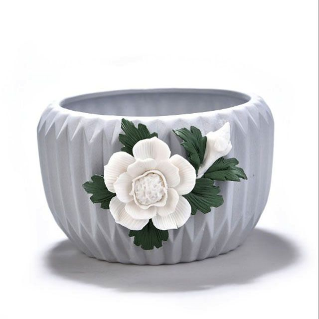 Succulent Cactus Decorative Ceramic Embossed Flower Pots For Indoor And Outdoor Type Floor Boughpot Flower Kettle Sprinkler Flower Tub Pots Pergola Propag With Images