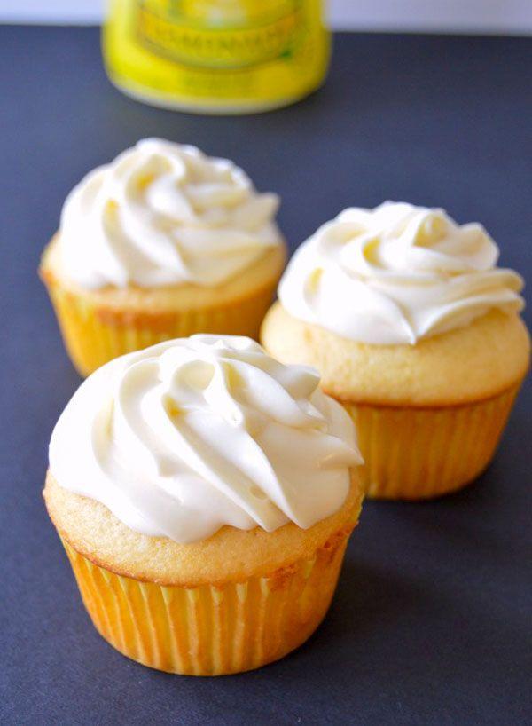 Perfectly Tart Lemon Cupcakes