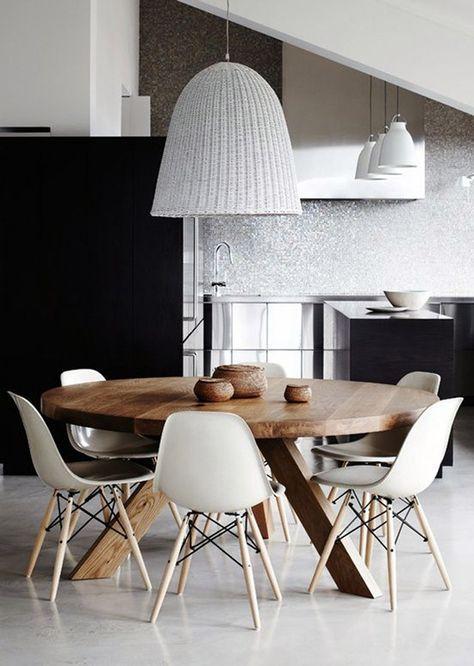 M s de 25 ideas incre bles sobre mesas redondas de madera for Muebles asiaticos barcelona