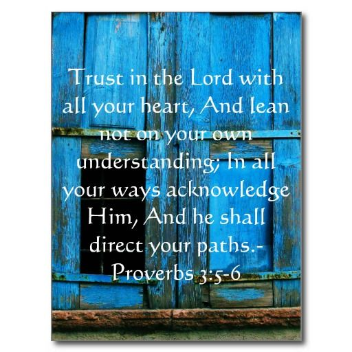 Inspirational Bible Quote Proverbs 3:5-6 Post Cards...so pretty: Posts Cards So, Cards So Pretty, Book Of Proverbs, Quote Proverbs, Pretty Gifts, Inspiration Bible Quotes, Books Of Proverbs, Inspirational Bible Quotes, Books Scriptures