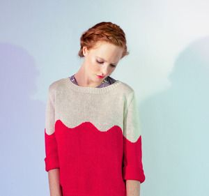 Image of Rose Wave Sweater