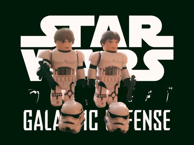 Hans Solo & Luke Skywalker In Stromtroopers Disguise