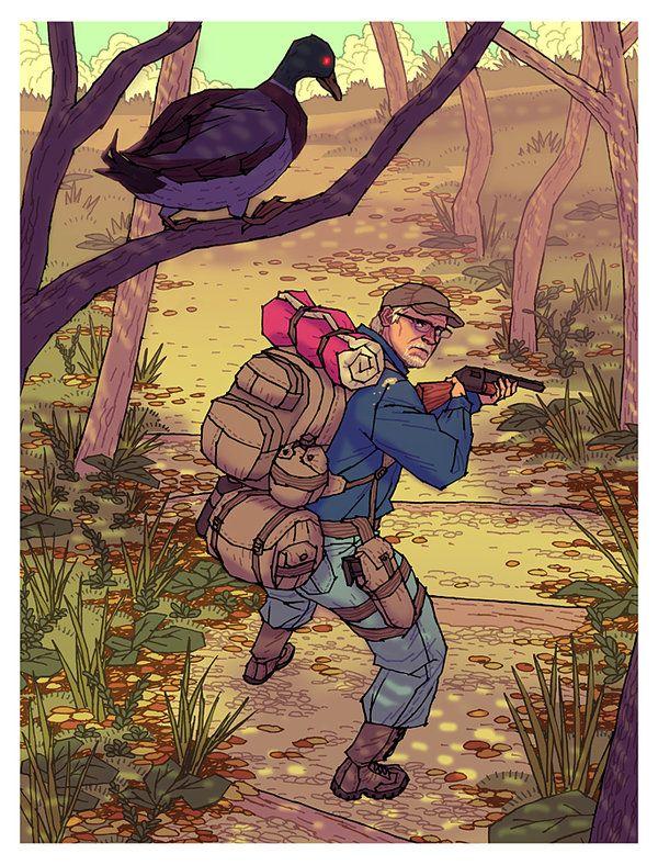 Robert Duck Hunt by ~AznMexTofu on deviantART
