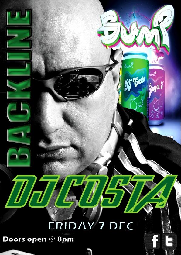 DJ Costa #Bump31 LIVE at Backline Night Club Margate 7 Dec 2012