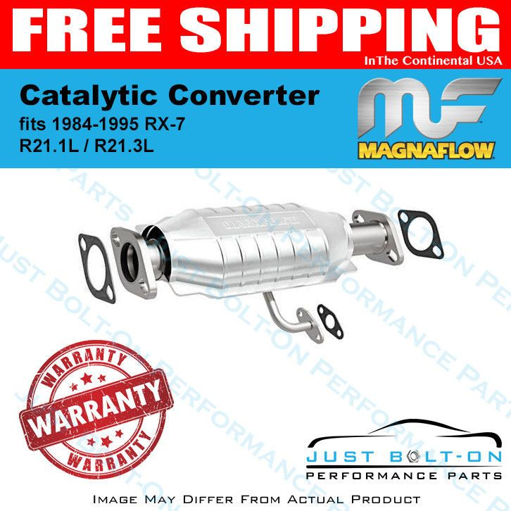 Magnaflow Catalytic Converter Fits 1984 1995 Rx 7 R21 1l R21 3l 23688 Performance Parts Fitness Converter
