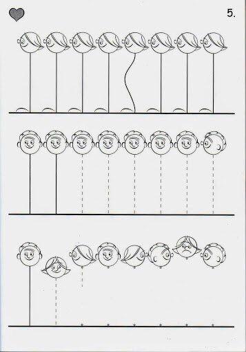 Schrijfmotoriek: Schrijfpatronen 5