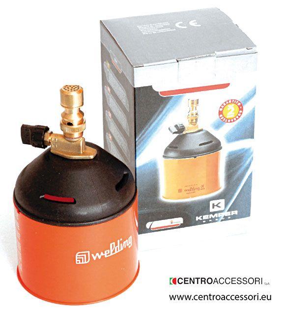 Saldatore a gas verticale. Vertical gas welder. #CentroAccessori