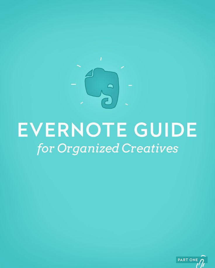 Evernote guide for Organized Creatives... We're on a mission to help modern creatives get organized and stay focused in an information-obsessed society, so they can share their gifts...