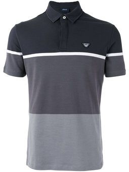 Camisa polo color block