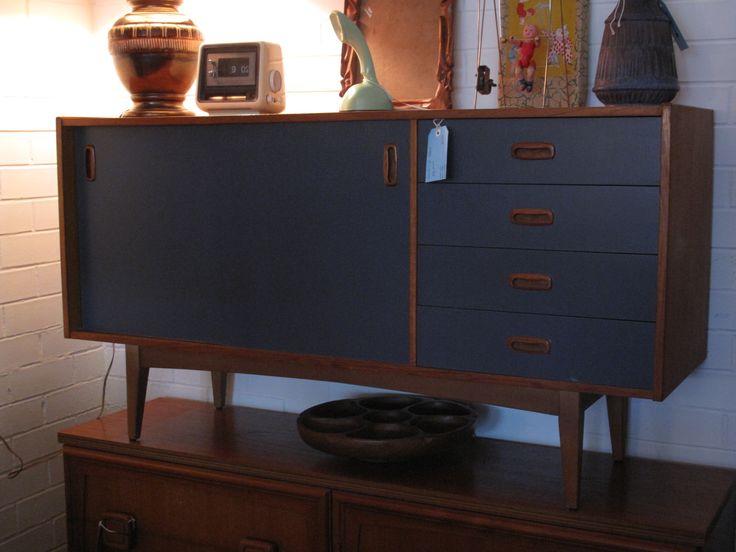 Upcycled Danish Style Sideboard $650