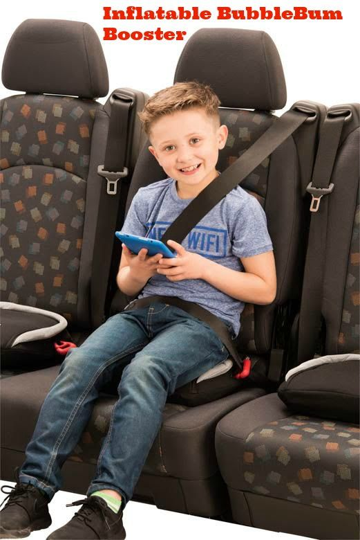 Travel Booster Car Seat The BubbleBum Is A Game Changer Because It Makes Traveling With Kids So Much Easier Inflatable Comes