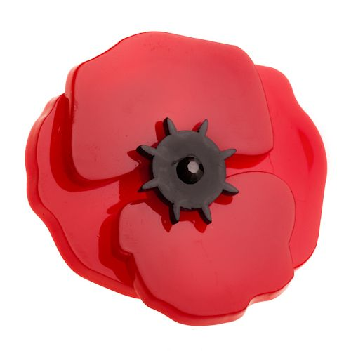 **VERY RARE, LAST ONE!** Limited edition Erstwilder Poppy Field brooch by Louisa Camille. $34.95
