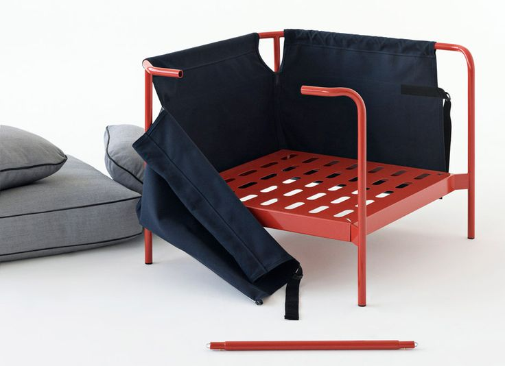 bouroullec brothers design flatpack can sofa for hay