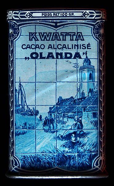 Cacao Kwatta blikje.