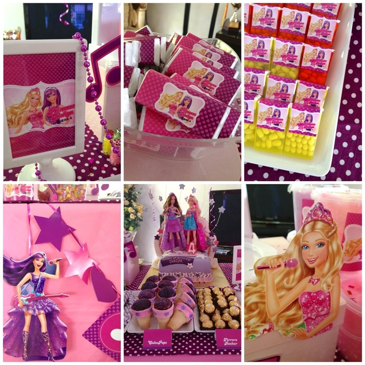 212 best Princess and the Pop Star Birthday images on Pinterest - best of coloring pages barbie rockstar